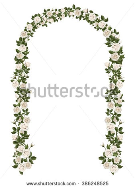 Wedding Arch Drawing by Climbing Clipart 56