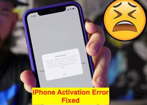ios  iphone activation error xe  itunes