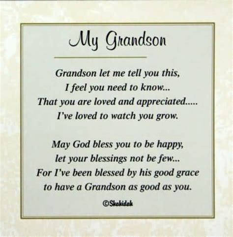 Pdf What I Wish For My Grandchild by Happy Birthday Wishes For Grandson Poems Nicewishes