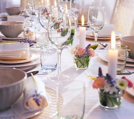 Kerzen Tischdeko Hochzeit by Deko Kerzen Treffen Auf Blumen Bild 4 Living At Home