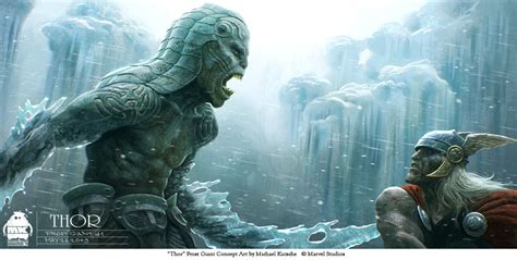 thor movie frost giants exclusive behind the scenes look at thor s frost giants