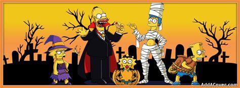 imagenes de halloween simpson simpsons halloween facebook covers simpsons halloween fb