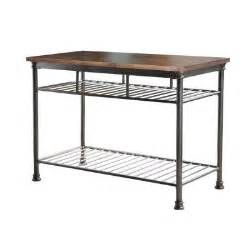 Home Styles The Orleans Kitchen Island Home Styles Orleans Butcher Black Kitchen Island In Gun Metal 5061 94 The Home Depot