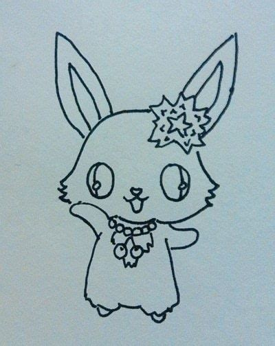 how to draw a doodle bunny kawaii bunny doodle 183 how to draw an animal drawing 183
