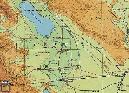 california map imperial valley earthshots imperial valley california