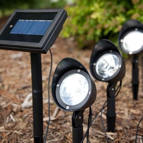 Outdoor Spot Lights Outdoor Motion Solar Spotlights On Winlights Deluxe Interior Lighting Design
