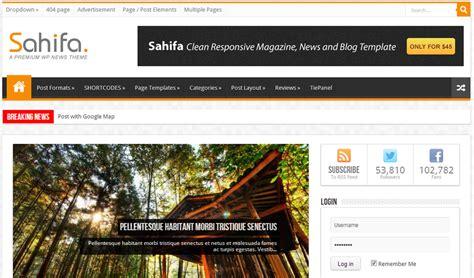 sahifa theme problems best responsive wordpress magazine themes