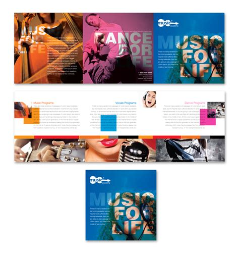 tri fold school brochure template school tri fold brochure template dlayouts graphic