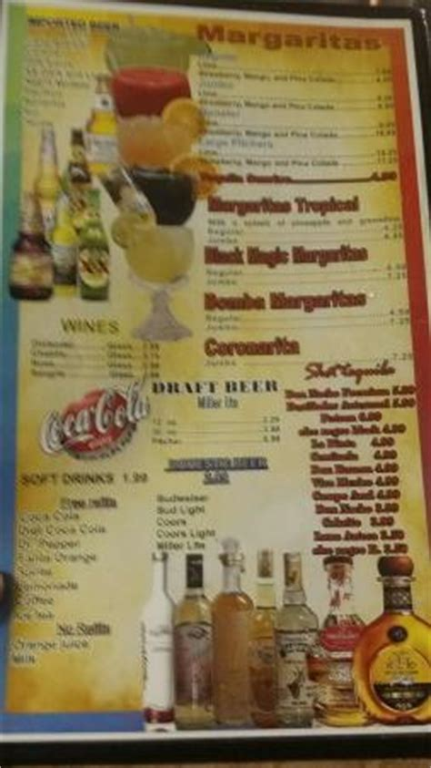 Restaurants Knob Noster Mo by Menu Picture Of Tequila Jalisco Mexican Restaurant Knob