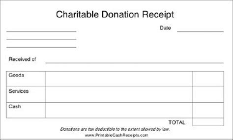 Donation Letter No Goods Or Services donors to charity should be able to use this receipt for tax purposes as it affirms the giving
