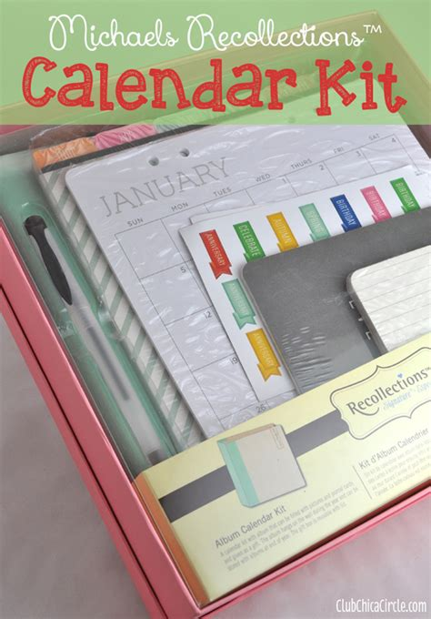 calendar kit best gift idea for
