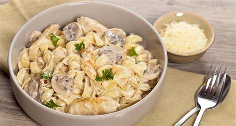 recette de p 226 tes au poulet et aux chignons