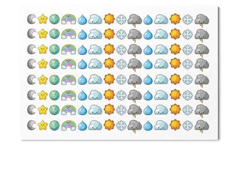 weather planner stickers printable 122 kawaii cuteness overload weather stickers planner