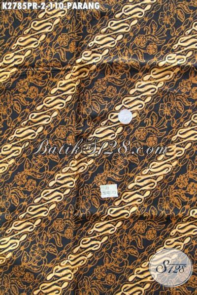 Kain Batik Sogan Parang A8 batik parang klasik bahan kain batik elegan istimewa buatan proses cap sogan untuk