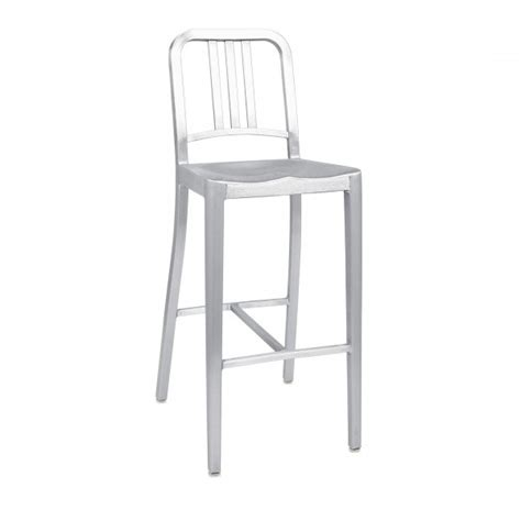 Emeco Philippe Starck Bar Stool by Navy Bar Stool Emeco