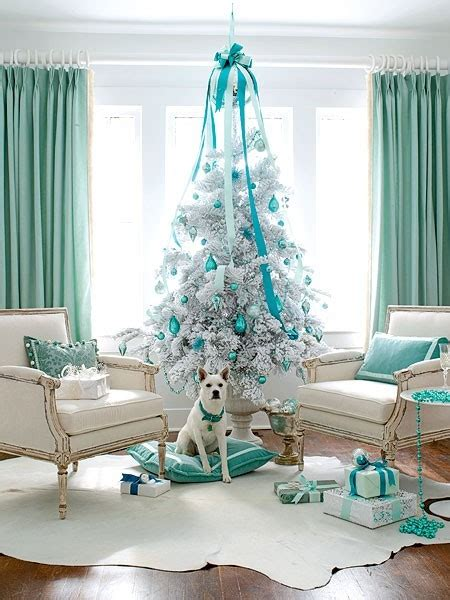 tiffany and co home decor elegant tiffany blue christmas decor amazing design for less