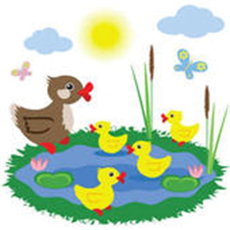 Duck Pond Clipart duck pond stock illustrations gograph