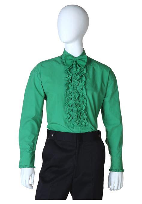 colored tuxedo shirts ruffled green tuxedo shirt mens tuxedo shirts