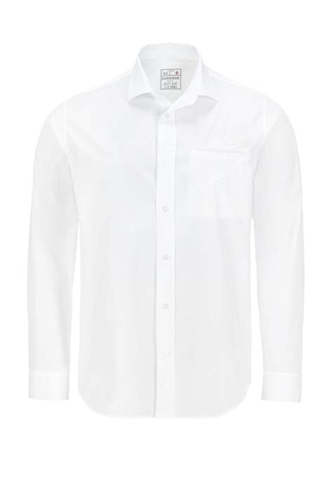 3second 515 White L herren hemd classic white l herren fashion sansibar