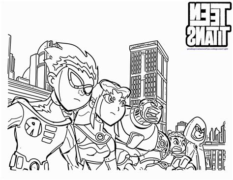 teen titans go coloring online coloring pages
