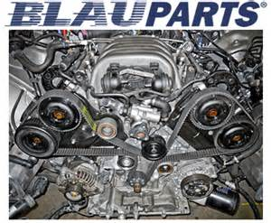 blauparts audi a6 3 0l timing belt kit now includes the