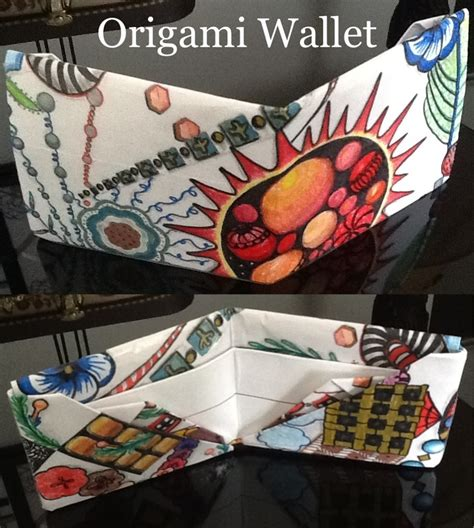 Origami Magic Wallet - best 25 origami wallet ideas on leather