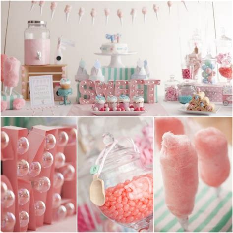 themed birthdays ideas kara s party ideas a cotton candy themed playdate party