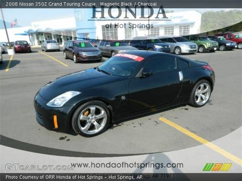 2008 Nissan 350z Touring by Magnetic Black 2008 Nissan 350z Grand Touring Coupe