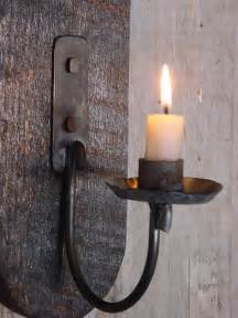 Candle Sconces Wall Lighting Candle Sconce Primitive Early By Baconsquarefarm