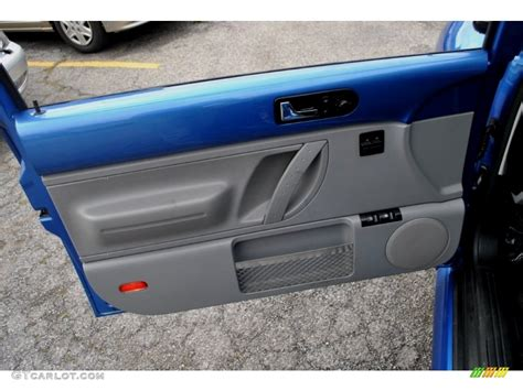 2001 Vw Beetle Door Panels by 1999 Volkswagen New Beetle Gls Tdi Coupe Black Door Panel