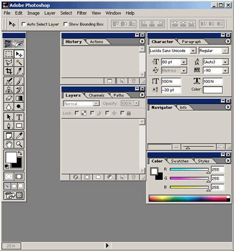 barra de herramientas superior photoshop contraste magazine tutoriales adobe photoshop 6