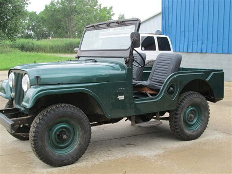 Willys Jeep Cj5 For Sale 1956 Willys Jeep Cj5 Civilian Stored Indoors Classic