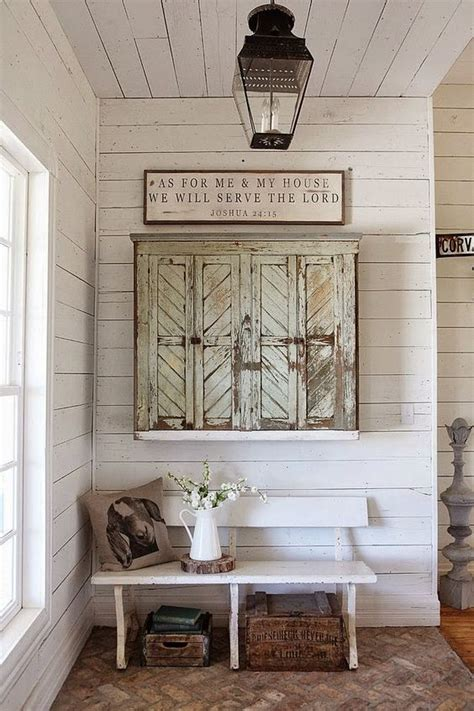 shiplap diy and urban farmhouse how to style home page