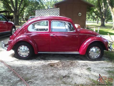 volkswagen beetle red 1967 volkswagen beetle red
