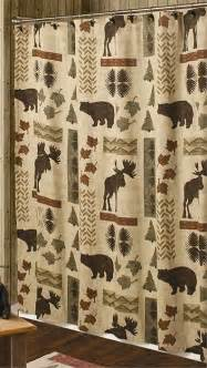 Country Themed Shower Curtains Big Country Shower Curtain Moose And Shower Curtain Lodge Decor
