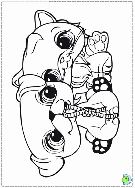 coloring pages lps coloring pages littlest pet shop coloring home