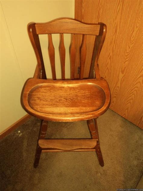 baby wooden high chair for sale classifieds