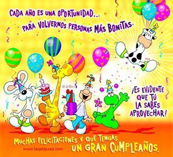 imagenes de cumpleaños tarjetas zea tarjetas de cumpleanos animadas graciosas 123