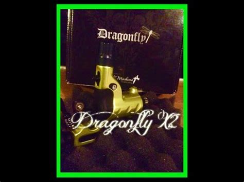 dragonfly tattoo machine youtube dragonfly x2 tattoo machine unboxing review youtube
