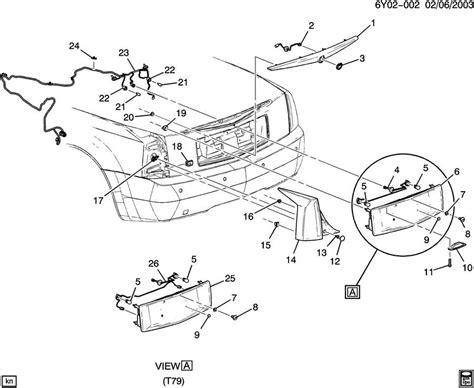 2004 2009 Cadillac Xlr Rear Fog Lamp Wiring Harness Export