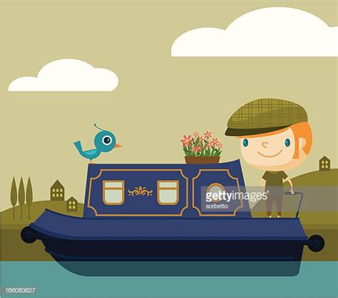 cartoon narrow boat images narrow boat stock illustrations and cartoons getty images