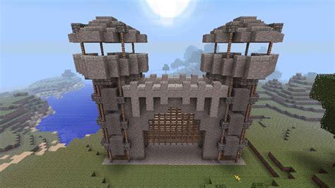 Minecraft Castle Door by David S Castle Gate Minecraft Project