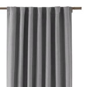Home Decorators Curtains Home Decorators Collection Gray Room Darkening Back Tab