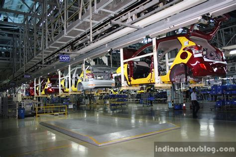 hyundai india chennai factory overhead conveyor belt