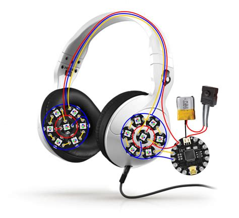 circuit diagram glowing skullcandy headphones mod