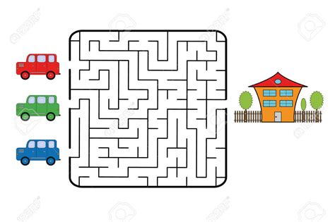 Free Ways To Find Road Clipart Maze Pencil And In Color Road Clipart Maze