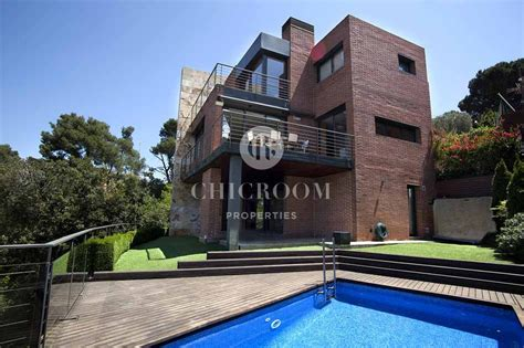 five bedroom houses for sale 5 bedroom house with sea view for sale in vallvidrera