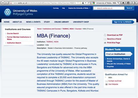 Of Wales Mba by где в интернете получить степень мва финансы Bigmir Net