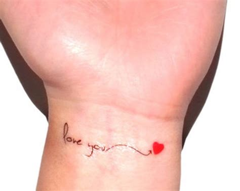 i love you tattoo on wrist collection of 25 wrist of i you