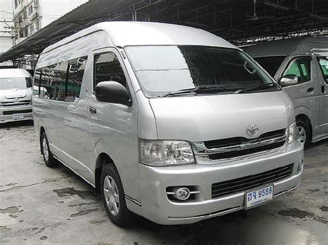 Toyota D4d Commuter Used Toyota Hiace Commuter 2 5 D4d Panel Vans Year 2008
